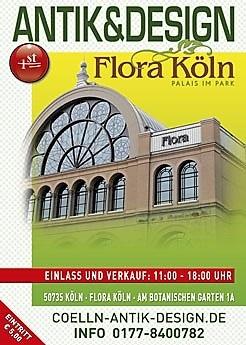Antik Und Designmarkt In Der Kölner Flora Cölln Antikdesign